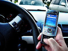 Using the phone in the car